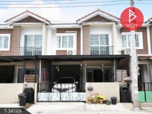 For SaleTownhouseSamrong, Samut Prakan : Townhouse for sale Phoomjai Niwet Thepharak Bang Bo Samut Prakan