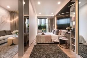 ขายคอนโดสุขุมวิท อโศก ทองหล่อ : 🚨ราคาพิเศษที่สุด!!🚨 ใกล้BTSทองหล่อ 1 Bed ห้องใหญ่ Oka Haus 35 ตร.ม 3.89 ล้าน ฟรีโอน+ส่วนกลาง 1 ปี 📞สนใจติดต่อ 096-742-6633