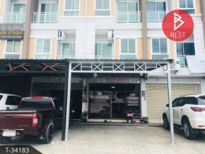 For SaleShophousePattaya, Bangsaen, Chonburi : ขายอาคารพาณิชย์ 3 ชั้น ศรีราชา ชลบุรี