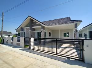 For SaleHouseChiang Mai : C7MG100423 Single-storey houe for sale. 3 bedrooms and 2 bathrooms, 66 sq.wa.