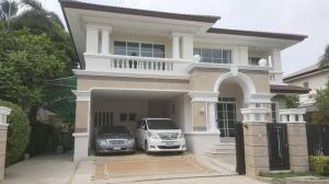 For RentHouseSamrong, Samut Prakan : For Rent Single House AT Nantawan Suvarnabhumi, 4-bedroom, spacious area, near Airport