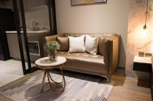 For RentCondoSukhumvit, Asoke, Thonglor : 🌟Rhythm Ekkamai for rent 1 bedroom 31 sq.m. fl.18 price 27,000THB/month Fully furnished, Ready move in near BTS Ekkamai🌟