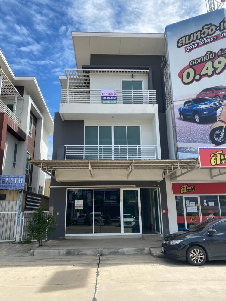 For SaleHome OfficeRangsit, Patumtani : Home office for sale near Chatchawan Market, Khlong 7, Supalak Project, Lam Luk Ka 46 sq m.