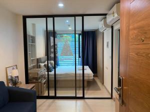 For RentCondoOnnut, Udomsuk : Condo for rent The Niche Mono Sukhumvit 50,  near BTS Onnut 900m. Lotus, Big C Onnut, Expressway   Size 28.5 sqm, 1 bedroom, 1 bathroom, 3rd floor , fully furnished with electric appliances.