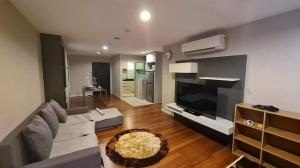 For RentCondoRama9, RCA, Petchaburi : 3 bedrooms condo for rent at Belle Grand Rama 9.[ MRT Rama 9 ], [ Fully Furnished ].