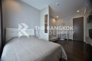 For RentCondoRama9, RCA, Petchaburi : 🌟(RENT) Q Asoke - Hot price! 🌟 Studio 30 SQM., fully furnished, 1 step to MRT Phetchaburi