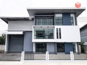 For RentWarehouseRangsit, Patumtani : Warehouse with office for rent, Lam Luk Ka, Khlong 9, Pathum Thani, size 470 sq.m.