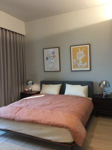 For RentCondoSukhumvit, Asoke, Thonglor : E869 Condo for rent TELA Thonglor 111 sq m. 2 bed, washing machine and bathtub BTS Thonglor.