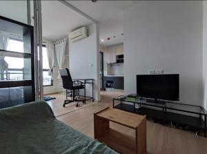 For RentCondoChengwatana, Muangthong : Condo for rent, The Base Chaengwattana, FREE WIFI, ready to move in, 23rd floor, Building B, 1 bedroom, 1 bathroom, 1 kitchen 1