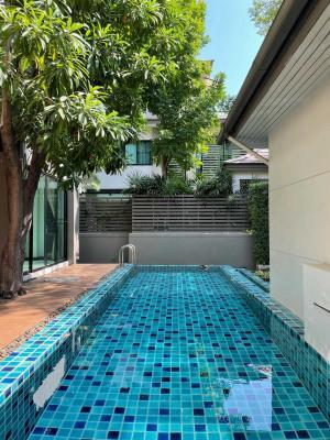 For RentHouseSukhumvit, Asoke, Thonglor : Pool villa Sukhumvit 49