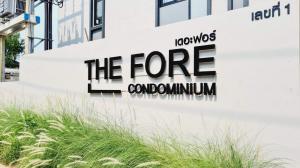 เช่าคอนโดเชียงใหม่ : คอนโดใหม่ ให้เช่า  The fore Condo สวนดอก ใกล้รพบ.สวนดอก ใกล้มช เดินไปเรียนได้เลย
