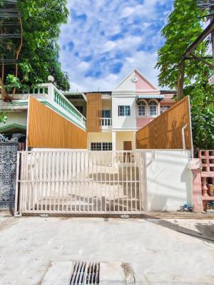 For SaleHouseOnnut, Udomsuk : กู้ได้เต็ม 100% เจ้าของขายเอง บ้าน อุดมสุข 51 ประวิทย์ ทะลุ วชิรธรรม 101/1 ปุณวิถี ได้ ตกแต่งใหม่