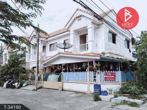 For SaleTownhouseRathburana, Suksawat : Townhouse for sale Suksamran Village, Pracha Uthit 90, Samut Prakan