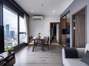 For RentCondoRama9, RCA, Petchaburi : Urgent for rent IDEO MOBI ASOKE, very beautiful room, 2 bedrooms