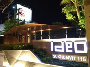 For RentCondoSamrong, Samut Prakan : For rent ID Sukhumvit 115, 31st floor, next to BTS Pu Chao.