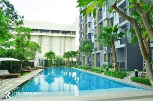 For SaleCondoOnnut, Udomsuk : River View!! Corner Room 20+ High Floor Condo for Sale Near BTS Onnut - Q House Sukhumvit 79 @8.5MB