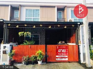 For SaleTownhouseSamrong, Samut Prakan : 2 storey townhome for sale, The Connect 51 Thepharak-Mueang Mai, Samut Prakan.