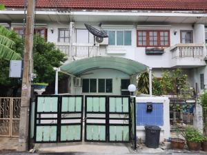 For RentTownhouseChengwatana, Muangthong : Sell-rent, cheap, fully furnished house ready to move in  Nichada Village, Pak Kret