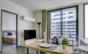 For RentCondoSukhumvit, Asoke, Thonglor : Edge Sukhumvit 23 for rent 1 bedroom 45 sq.m. fl.3 Fully furnished, Ready move in near BTS Asoke