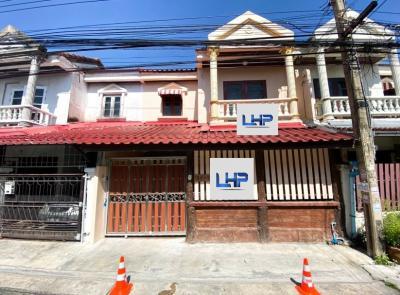 For SaleTownhouseNawamin, Ramindra : 2 storey townhomes for sale, Euang Fa Villa Village.