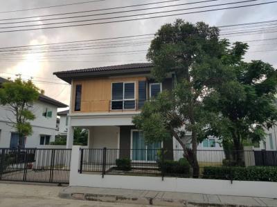 For SaleHouseLadkrabang, Suwannaphum Airport : 2 storey detached house for sale Prueklada (Suvarnabhumi)