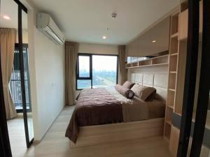 For RentCondoRama9, RCA, Petchaburi : Condo for rent at Life Asoke, 12th floor, beautiful room number, fully furnished and electrical appliances, next to MRT Phetchaburi, ARL Makkasan