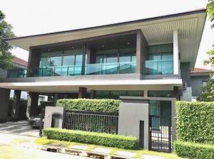 For SaleHouseRamkhamhaeng,Min Buri, Romklao : house for sale Setthasiri Village, Krungthep Kreetha, next to the new road, Krungthep Kreetha-Romklao