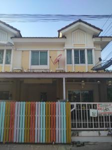For RentTownhouseRangsit, Patumtani : Rent: 2-storey townhouse, area 22.3 sq m. 🌈 Pruksa Ville 16 Village, Rangsit-Ongkharak