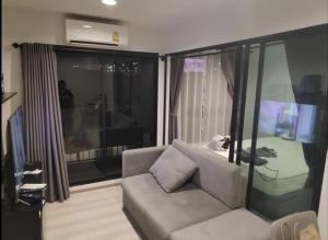 For RentCondoRama9, Petchburi, RCA : Condo for rent, Rise Rama 9, room 33 sq m with washing machine.