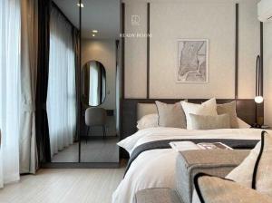 For RentCondoRama9, RCA, Petchaburi : Condo for rent Life Asoke rama 9 BA21_07_121_02 beautiful room, furniture, electrical appliances, price 13,999 baht