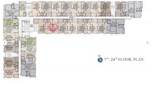 Sale DownCondoWongwianyai, Charoennakor : Sale down payment 1Bedroom Floor 18***Sell by owner