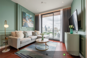 For SaleCondoSukhumvit, Asoke, Thonglor : Khun By Yoo - Beautifully Furnished 2 Bed / 82 Sqm / BTS Thonglor / Ready To Move In
