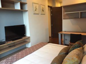เช่าคอนโดสุขุมวิท อโศก ทองหล่อ : Quattro by Sansiri ให้เช่า 1 ห้องนอน 50 ตร.ม.  ชั้น 9 ราคา 45,000 บาท/เดือน เฟอร์ครบพร้อมอยู่ใกล้ BTS ทองหล่อ