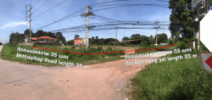 For SaleLandUdon Thani : Land for rent or sale in Udonthani on Thanon Mittraphap near Bypass Road  Rarely available 4 -1- 51 ( 1751 Sq.Wha) on main road in Udonthani golden location , convenient transportation , High potential  suit for invertme