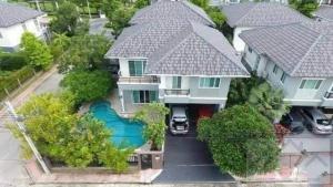 For SaleHouseBang kae, Phetkasem : ⭐🚩 Single house for sale in the corner with swimming pool The Plant The Plant Bang Khae (H1270) near MRT Lak Song