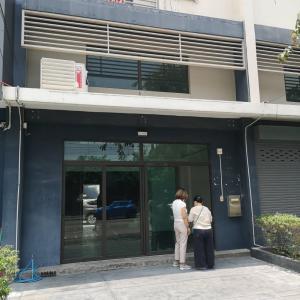 For RentTownhouseKaset Nawamin,Ladplakao : RTJ791ให้เช่าโฮมออฟฟิศ 3.5 ชั้นโครงการ DISTRICT เอกมัย-รามอินทรา รามอินทรา40