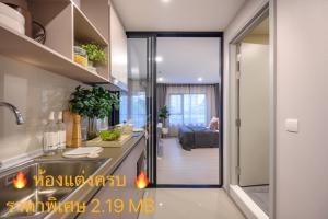 For SaleCondoOnnut, Udomsuk : Fully furnished room, special price