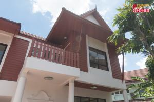 For SaleHouseVipawadee, Don Mueang, Lak Si : discount over 5 hundred thousand, 2 storey detached house, 3 bedrooms, 3 bathrooms, 1 multipurpose room, 82 square meters, new renovated condition. Ready to move in, Thai Village, Songprapha, Don Mueang