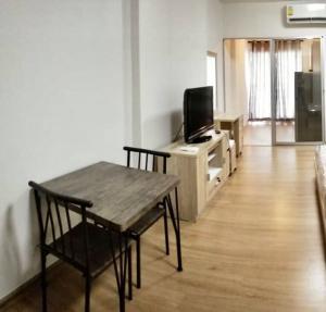 For RentCondoRattanathibet, Sanambinna : C315 For rent Supalai Vista, Tiwanon Intersection (pool view, has a washing machine, size 36 sq.m., 24th floor)