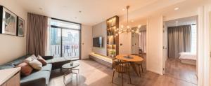 For RentCondoSukhumvit, Asoke, Thonglor : Muniq sukhumvit 23 for rent 2 bedroom 69.5 sq.m. floor 19 price 70,000THB/month Fully furnished, Ready move in near BTS Asoke