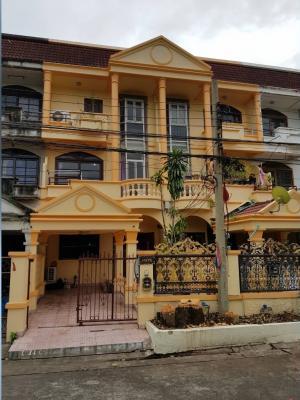For RentTownhouseSamrong, Samut Prakan : ให้เช่า บ้านทาวน์เฮ้าส์บุษบา2 สมุทรปราการ ติดรถไฟฟ้า  สถานีเอราวัณ  4 ห้องนอน 3 ห้องน้ำ