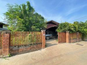 ขายบ้านพะเยา : ขายบ้านเดี่ยว 2 ชั้น (ครึ่งปูนครึ่งไม้) สไตล์ล้านนา จ.พะเยา