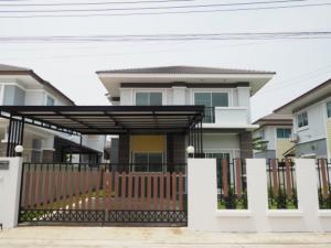 For SaleHouseChachoengsao : ขายบ้านเดี่ยว2 ชั้น เนื้อที่59 ตรว 3 นอน3 น้ำ ราคาพิเศษ
