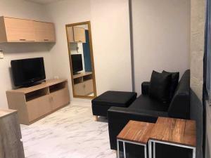 เช่าคอนโดรามคำแหง หัวหมาก : ห้องพึ่งรีโนเวทใหม่ สวย พร้อมอยู่ ราคาประหยัด ที่ลุมพินี ทาวน์ บดินทรเดชา - รามคำแหง