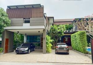 เช่าบ้านเสรีไทย-นิด้า : ให้เช่าด่วน บ้านเดี่ยว 2 ชั้น สุขุมวิท71 ซอยปรีดีพนมยงค์14 พร้อมอยู่ พร้อมสระว่ายน้ำ