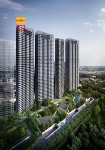 Sale DownCondoOnnut, Udomsuk : Skyrise 64 ห้อง Penthouse 3-bed 90.14 ตร.ม. ชั้น 48 วิวแม่น้ำ+โค้งบางกระเจ้า เพียง 10.69 ล้าน