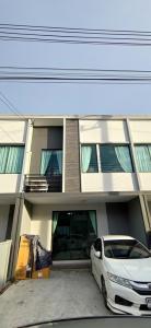 For RentTownhouseRangsit, Patumtani : ให้เช่าทาวน์โฮม โครงการพลีโน่ พหลโยธิน-รังสิต  3นอน 2น้ำ เฟอร์ครบ ลากกระเป๋าเข้าอยู่ได้เลย