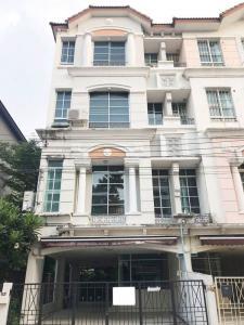 For RentTownhouseRamkhamhaeng, Hua Mak : For rent Baan Klang Muang Rama 9 - Ladprao AOL-F68-2107004274.