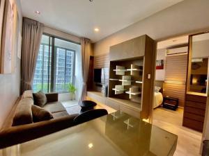 For RentCondoOnnut, Udomsuk : Ideo Mobi Sukhumvit 81 for rent 1 bedroom 31 sq.m. fl.8 Fully furnished, Ready move in near BTS Onnut