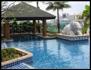 For RentCondoWongwianyai, Charoennakor : ให้เช่า คอนโดบ้านสาทรเจ้าพระยา  1  ห้องนอน 1 ห้องน้ำ ขนาด 42 ตรม. ขายเพียง 16000 บาท